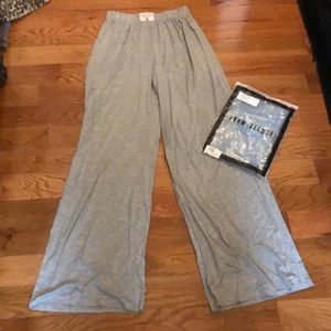 Adam selman wide leg lounge pants